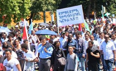 Image result for eritrean demo at geneva
