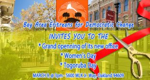 Oakland: Inaugurating Premises, Celebrating Women's and Togoruba Days