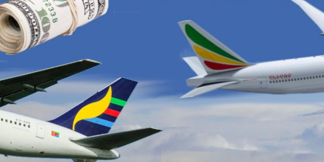 Dollar Crunch: Ethiopian and Eritrean Airlines