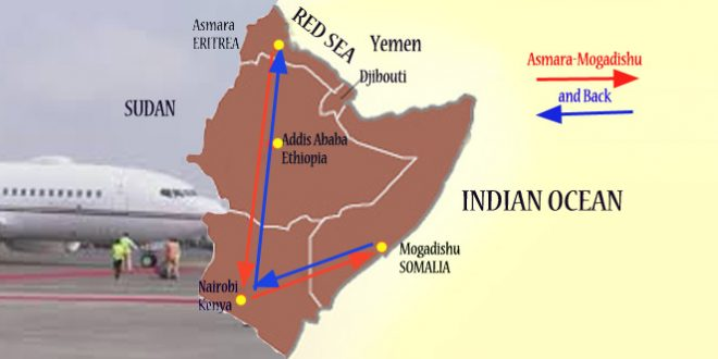 Isaias Travels Through Ethiopia To Mogadishu Via Nairobi