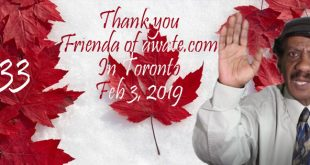 Thank You Friends of Awate in Toronto, We Hope Others Follow