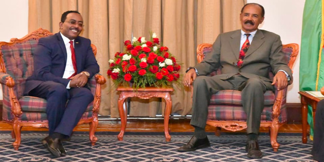 Isaias-Abiy Resolve an Issue, Redwan Pulled out of Eritrea